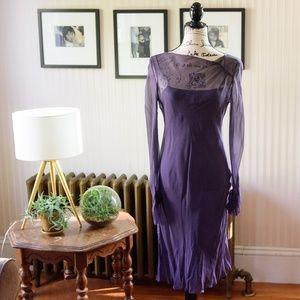 Vintage Jean Paul Gaultier Sheer Lowback Dress